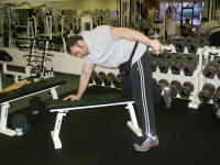 triceps strength traiining; exercise
