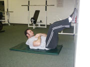 abdominal crunch and low back pain