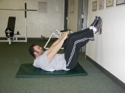 abdominal crunch and low back pain prevention