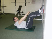 abdominal crunch and low back pain treatment