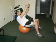 abdominal crunch and strengthening to prevent low back pain
