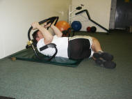 abdominal strength training; ab roller