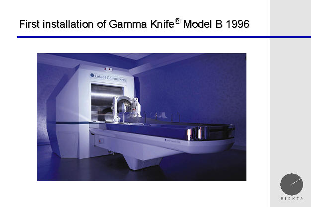 gamma knife model b, University of Pittsburgh, Pittsbugrh