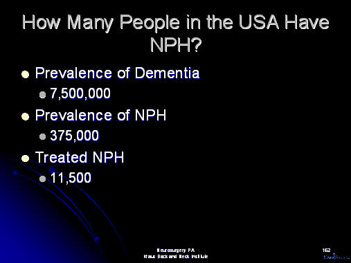 prevelance of nph in the united states
