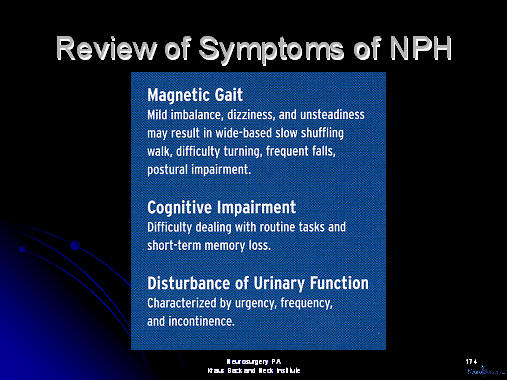normal pressure hydrocephalus; review