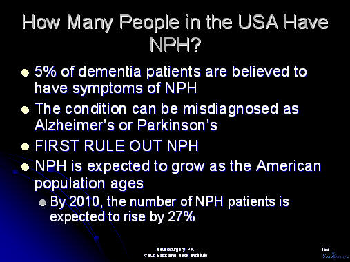 how many people have normal pressure hydrocephalus?